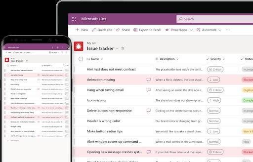Die neue Anwendung Microsoft-Listen ist bereits in SharePoint und Teams verfügbar