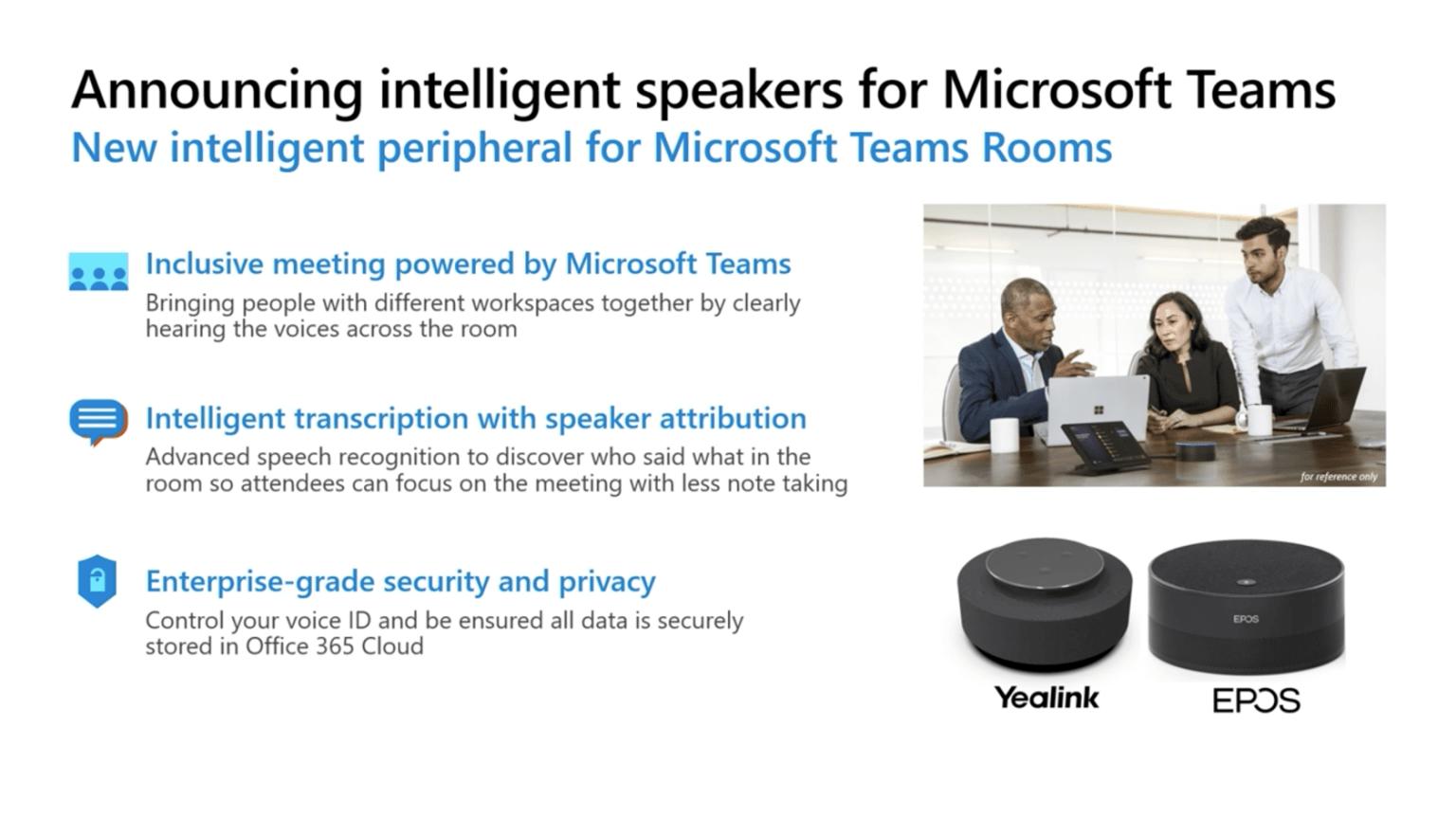 Teams Inteligent Speakers