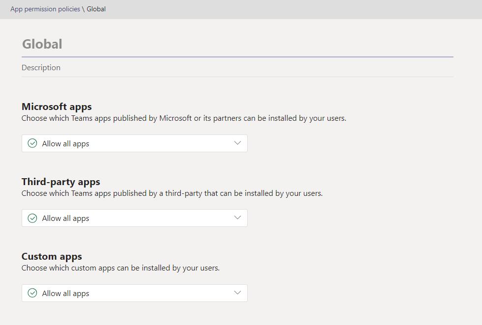 Microsoft Teams App Permissions