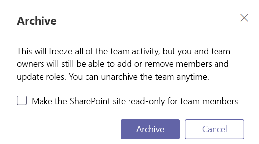 Microsoft Teams Archiving