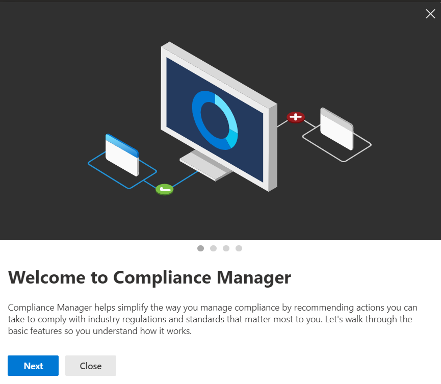 Welcome to the Microsoft 365 Compliance Manager