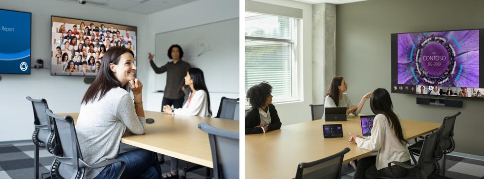 Gallery Views in Microsoft Teams Rooms