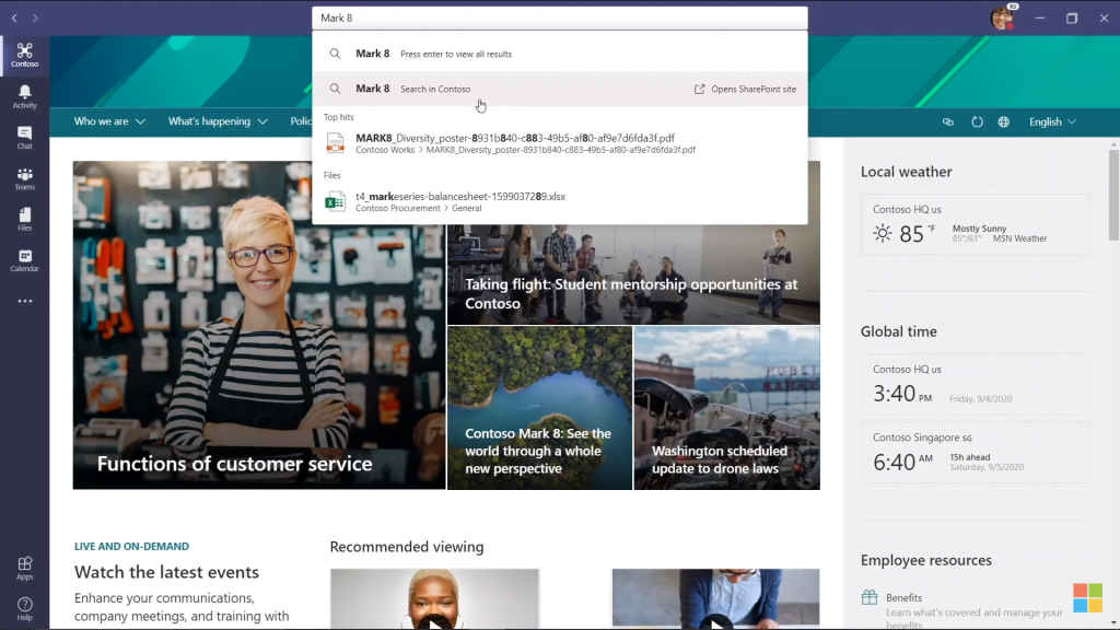 SharePoint Intranet Search